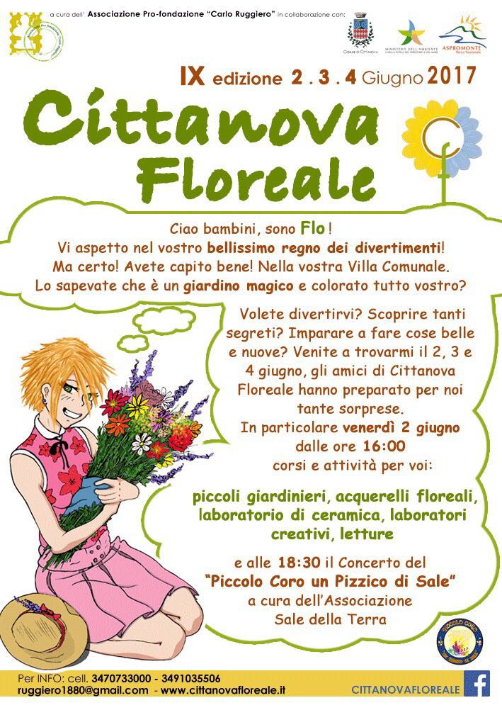 1 cittanova floreale programma