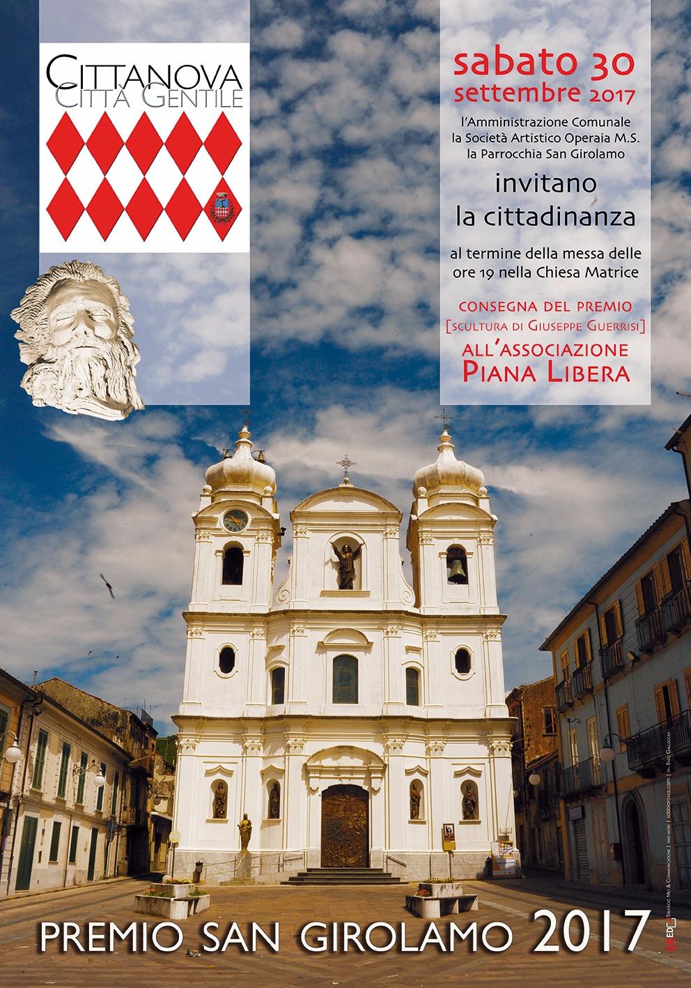 Premio San Girolamo 2017