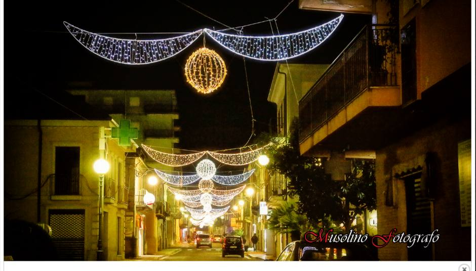 cittanova luminarie natalizie12