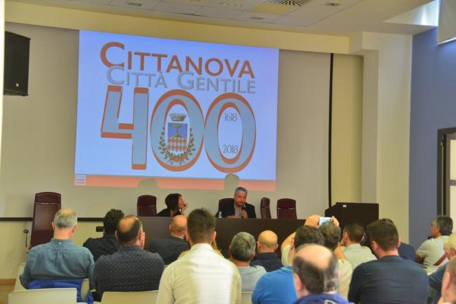 Cittanova logo 400 anni 3