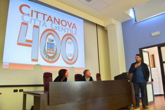 Cittanova logo 400 anni 6