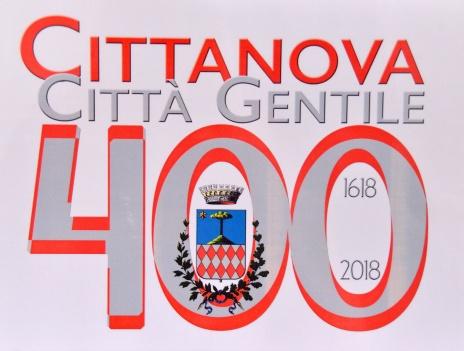 Cittanova logo 400 anni 9