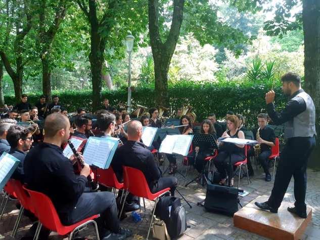 Cittanova 400 anni bande musicali1