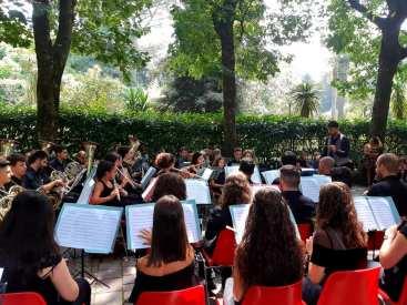 Cittanova 400 anni bande musicali13