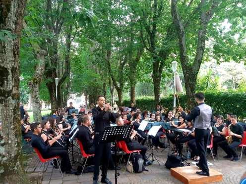 Cittanova 400 anni bande musicali5