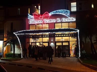 Cittanova illuminazione natalizia 2018 1