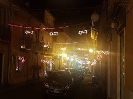 Cittanova illuminazione natalizia 2018 10