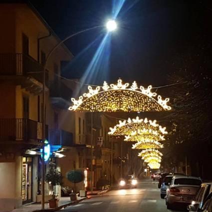 Cittanova illuminazione natalizia 2018 15