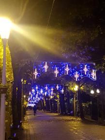 Cittanova illuminazione natalizia 2018 2