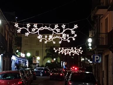 Cittanova illuminazione natalizia 2018 3
