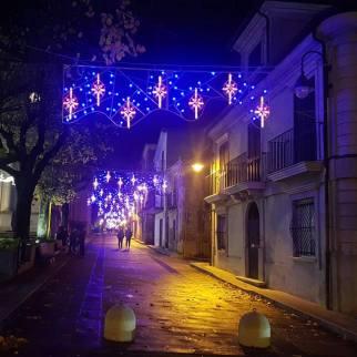 Cittanova illuminazione natalizia 2018 5